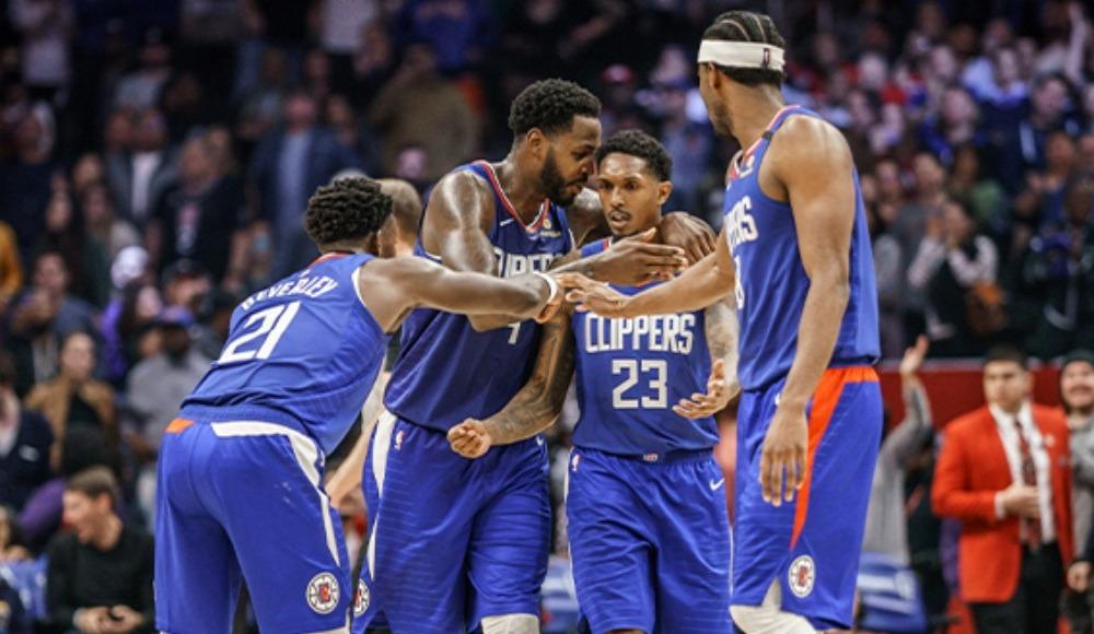 Clippers tarihinde bir ilk: 3 oyuncu birden...