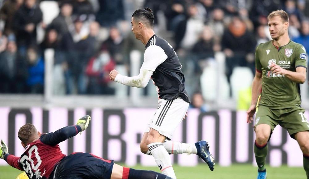 Ronaldo hat-trick yaptı, Juventus farklı kazandı! 4-0