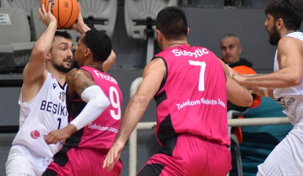 Çekişmeli geçen maçın galibi Beşiktaş Sompo Sigorta