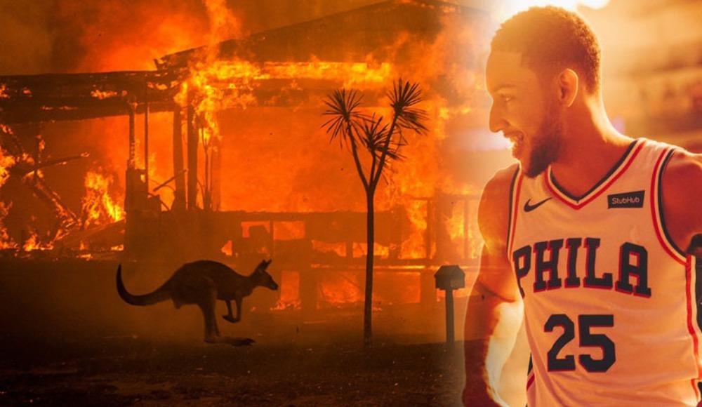 NBA'deki Avustralyalı yıldızlardan 750 bin dolarlık bağış