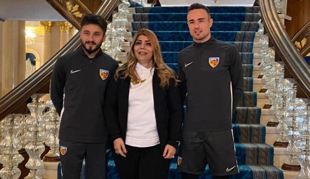 Kayserispor'da Cenk Şahin ve Zoran Kvrzic kampa katıldı