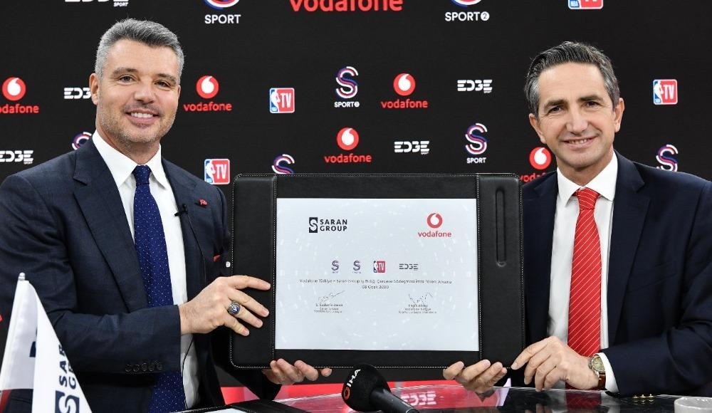 Saran Group ve Vodafone, sporda güçlerini birleştirdi