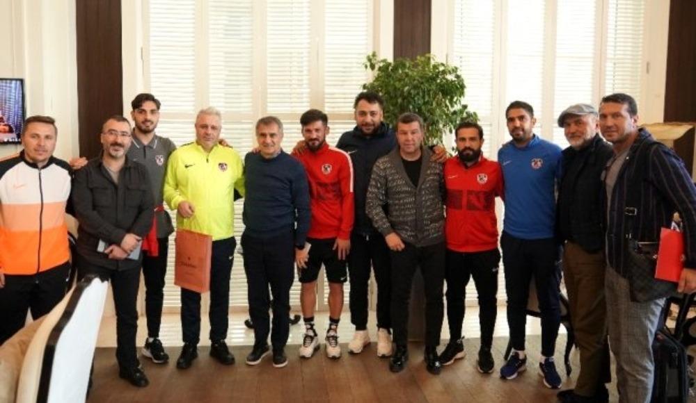 Şenol Güneş'ten Gaziantep FK'yı ziyaret