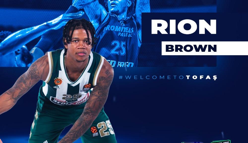 Rion Brown, TOFAŞ'ta