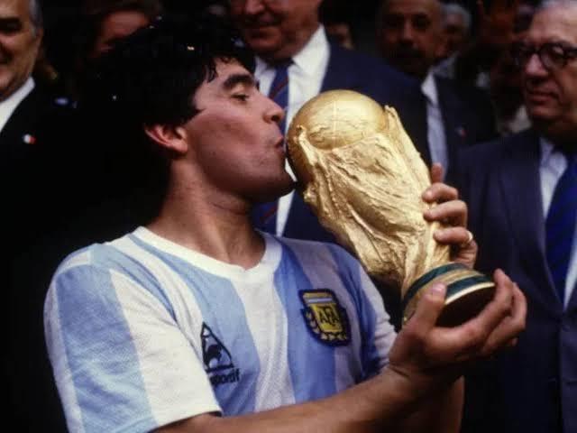 SHEFFIELD UNITED: Diego Maradona