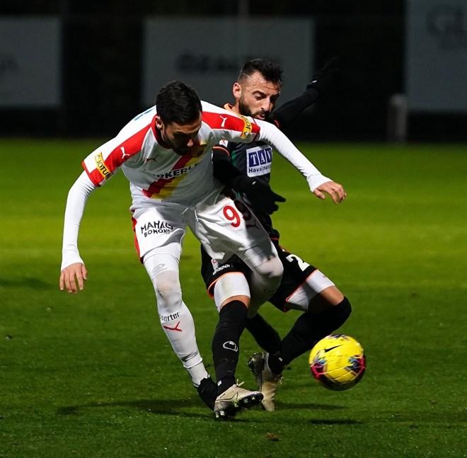 Alanyaspor, hazırlık maçında Göztepe'yi 1-0 yendi