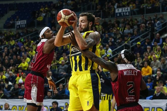 Fenerbahçe Beko'dan üst üste sahasında 9. galibiyet