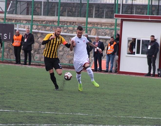 Elazığspor, sahasında Bayburt Özel İdarespor ile berabere kaldı