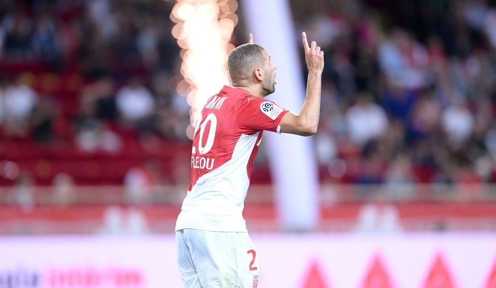 Monaco PSG deplasmanından puanla döndü! Slimani...