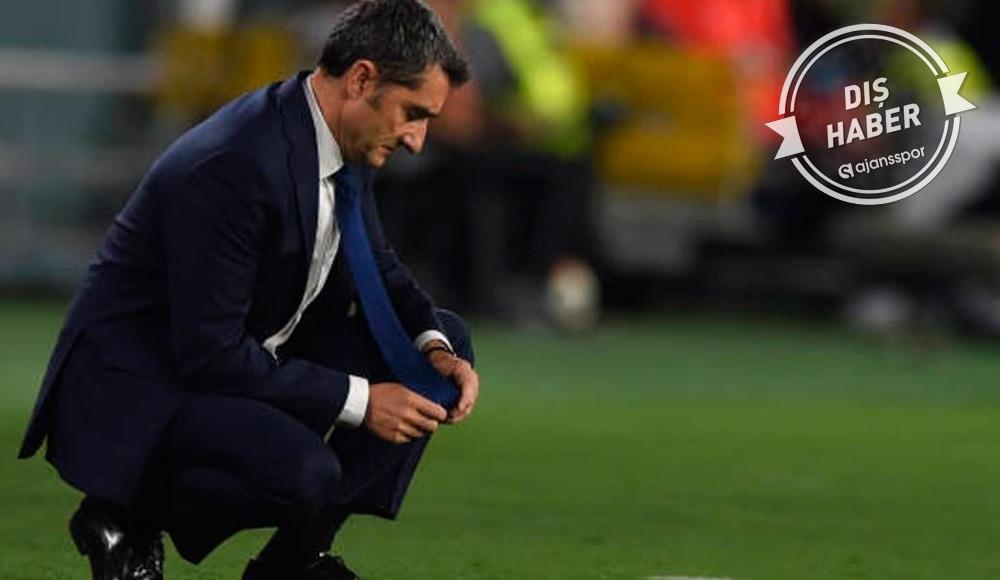 Barcelona'da Valverde dönemi sona erdi!