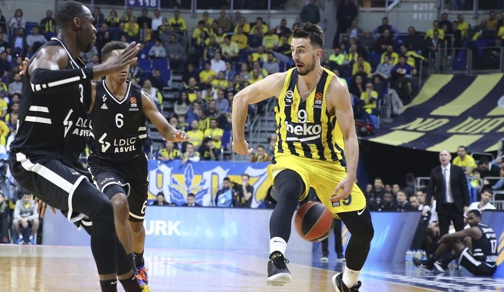 Fenerbahçe Beko, ASVEL karşısında farklı kazandı!