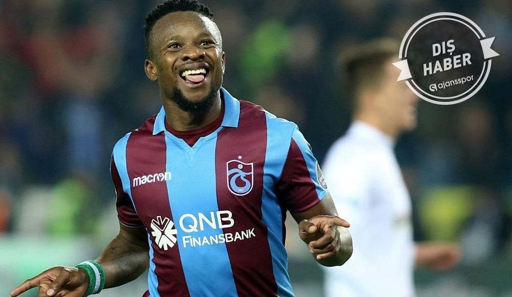 Sözleşmesi feshedilen Onazi Trabzonspor'a veda etti