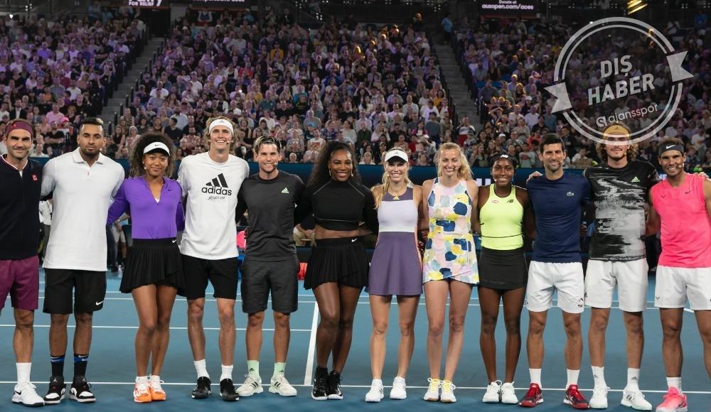 Nadal ve Federer'den Avustralya'daki yangınlar için 250 bin dolar bağış