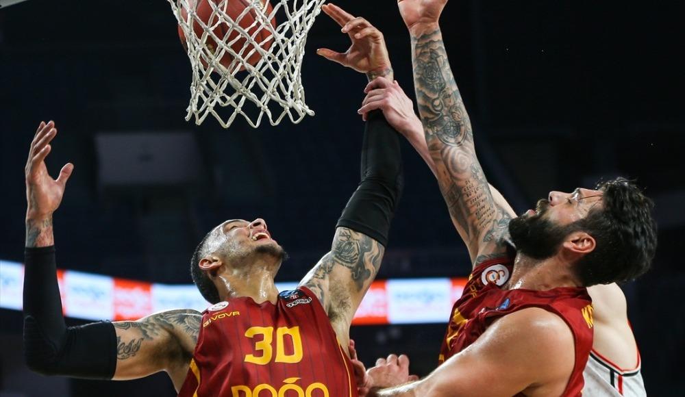Galatasaray Doğa Sigorta, Rytas'a mağlup oldu!