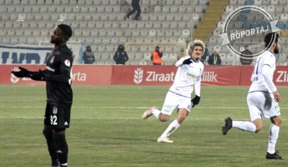 BB Erzurumsporlu Osman Çelik: 'Hakemin kararı doğru'