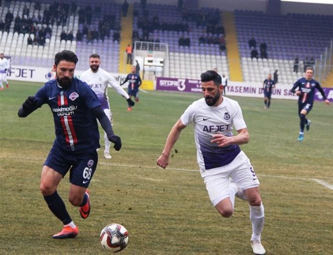 Afjet Afyonspor, H. Trabzon'u 1-0 mağlup etti