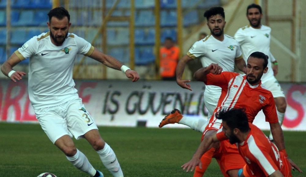 Adana'da gol sesi çıkmadı! 0-0