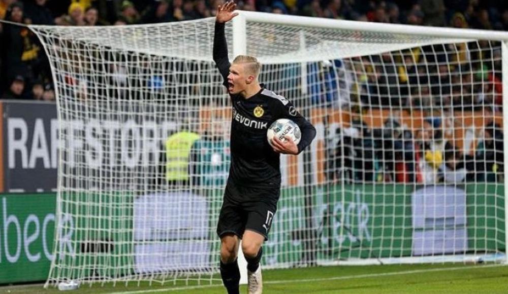 Haaland şov yaptı, Dortmund muhteşem bir geri dönüşe imza attı