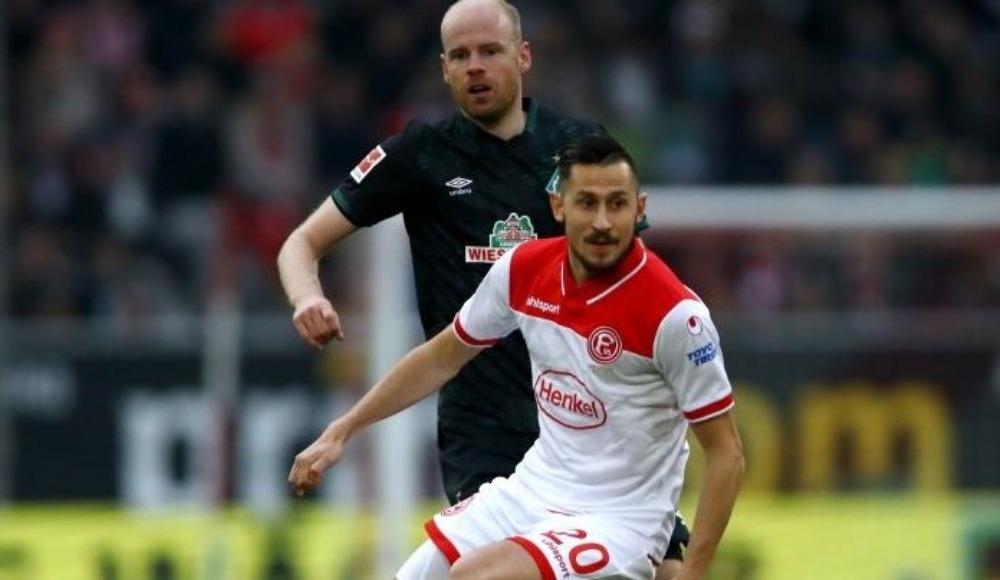 Werder deplasmanda kazandı!