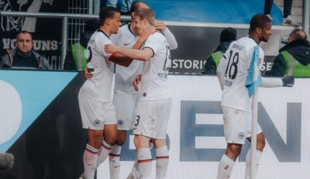 Eintracht Frankfurt deplasmanda kazandı