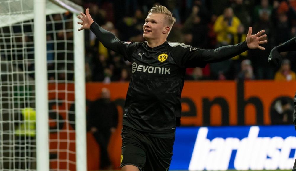 Erling Haaland, Bundesliga'da ayın oyuncusu!