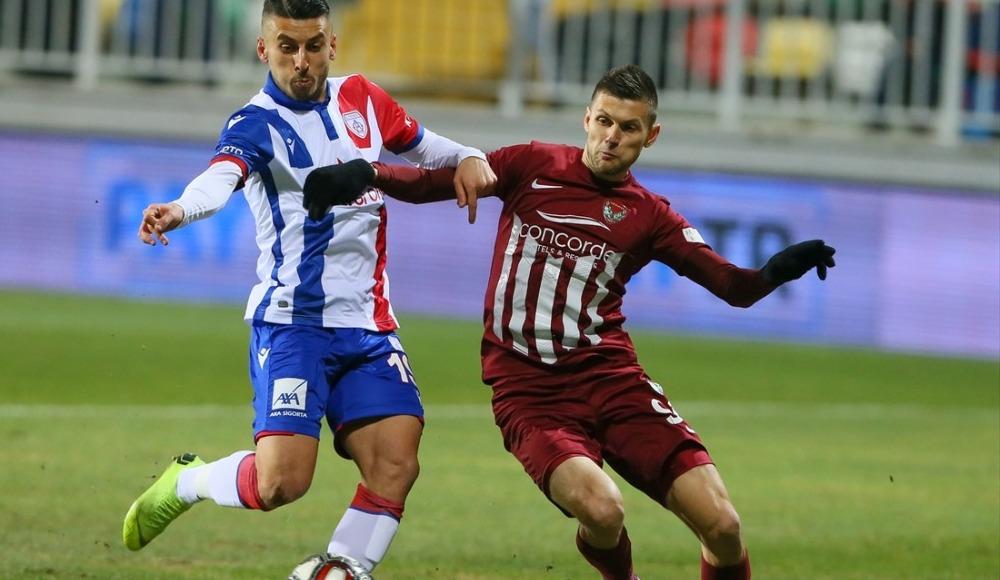 Altınordu ile lider Hatayspor 2-2 berabere kaldı