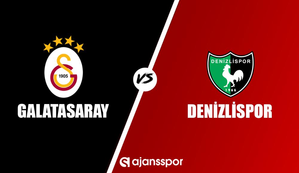 Galatasaray - Denizlispor (Canlı Skor)
