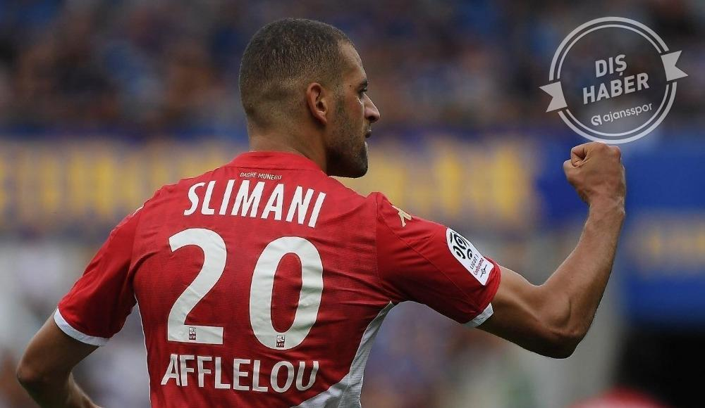 Islam Slimani'ye Premier Lig'den dev talip!