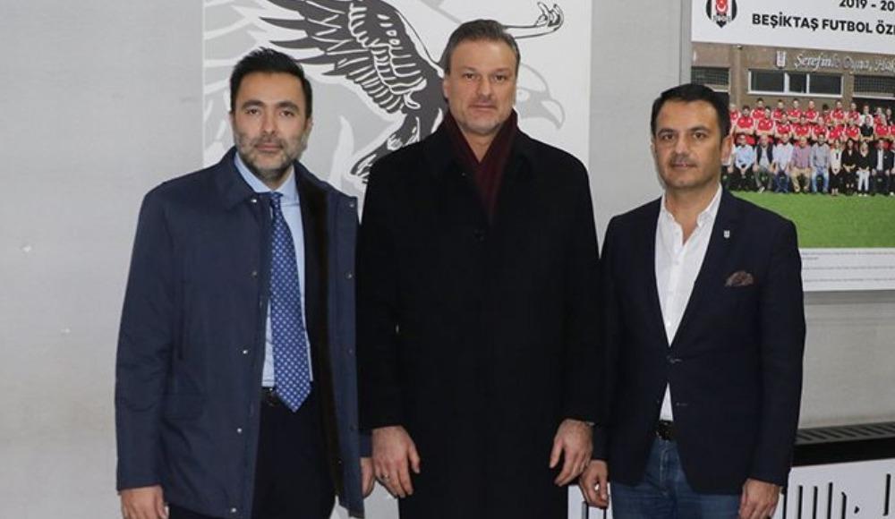 Alpay'dan Beşiktaş'a ziyaret