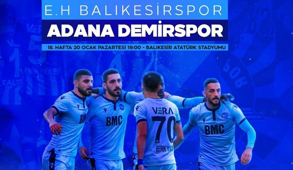 Balıkesirspor - Adana Demirspor (Canlı Skor)