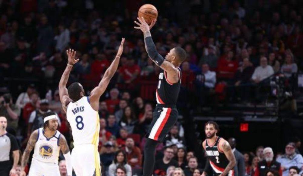 NBA'de Damian Lillard 61 sayıyla kariyer rekorunu kırdı