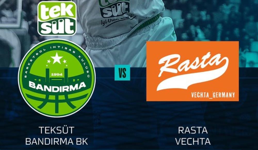 Teksüt Bandırma - RASTA Vechta (Canlı İzle)