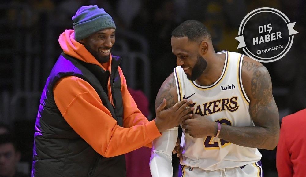 """Kobe Bryant'tan LeBron James sorusuna yanıt! """"Beni geçmesi..."""""""