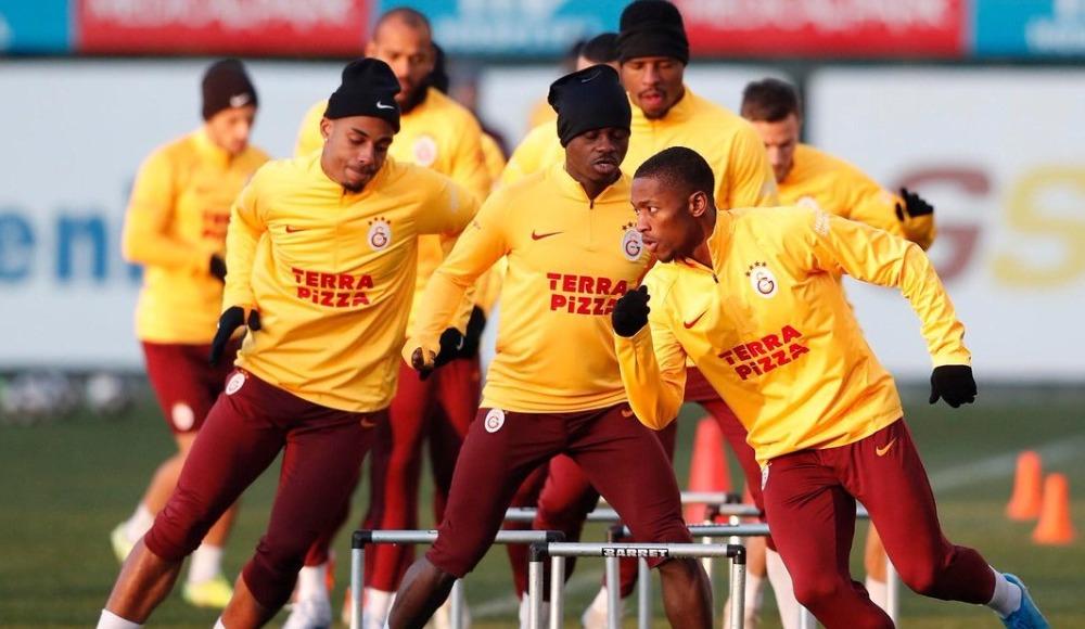 Galatasaray, Rizespor maçı hazırlıklarını tamamladı