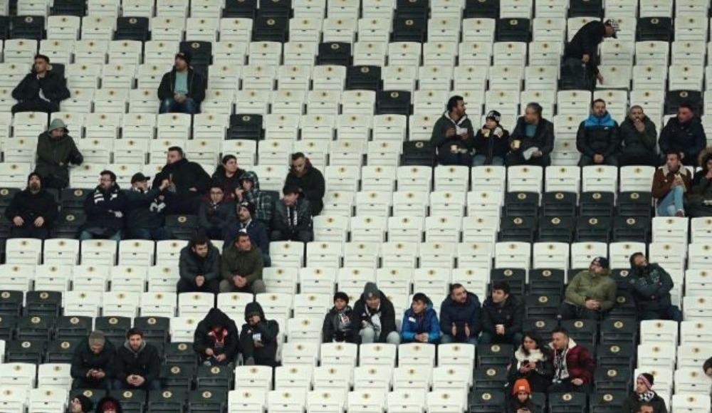 Beşiktaş-Erzurumspor maçı seyirci sayısı belli oldu
