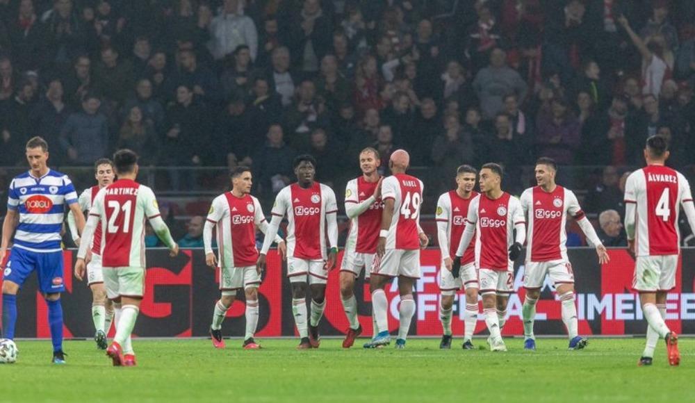 Naci Ünüvar attı, Ajax gol oldu yağdı!