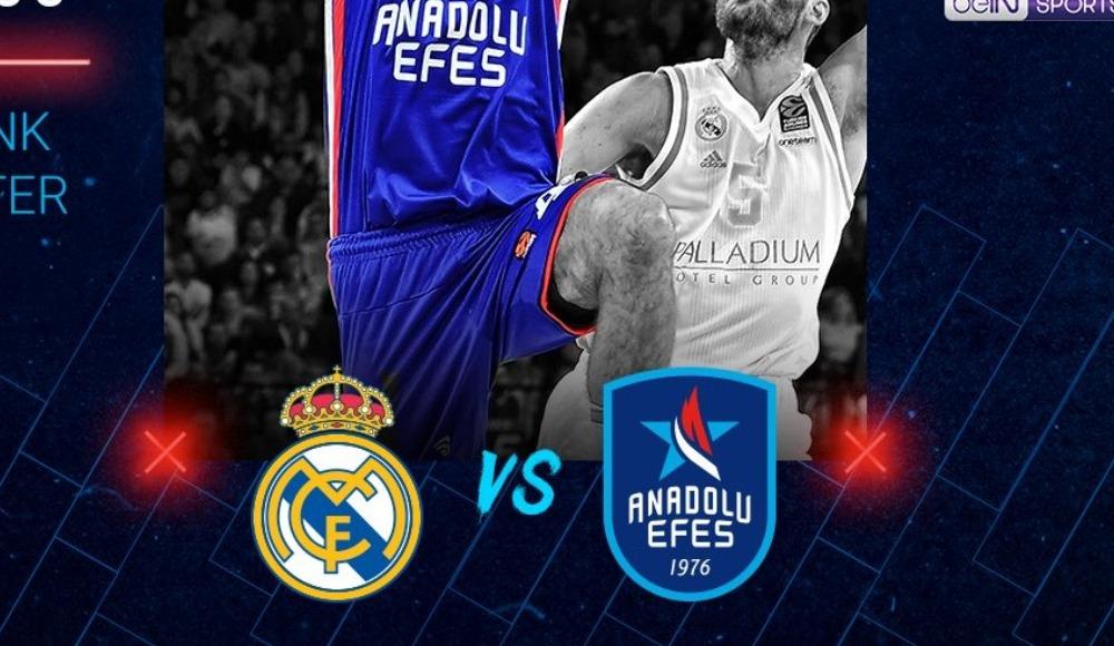 Real Madrid - Anadolu Efes (Canlı Skor)