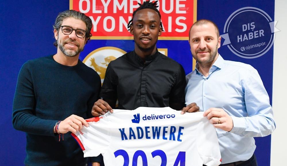Tino Kadewere, Lyon'da!