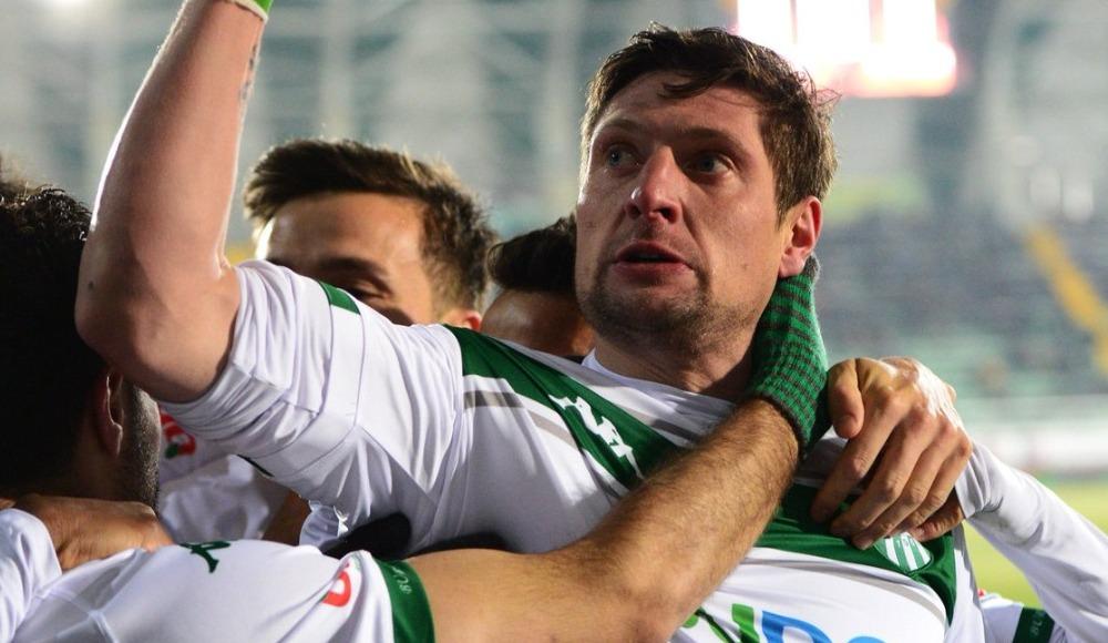 Yevhen Seleznyov atıyor, Bursaspor kazanıyor! 0-1