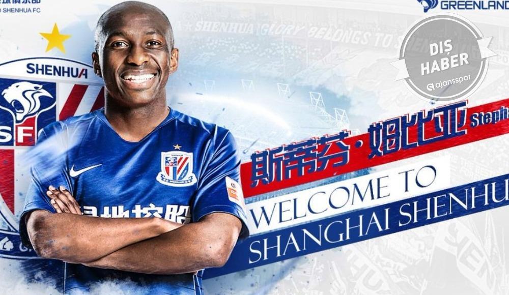 Stephane Mbia, Shanghai Greenland Shenhua ile imzaladı