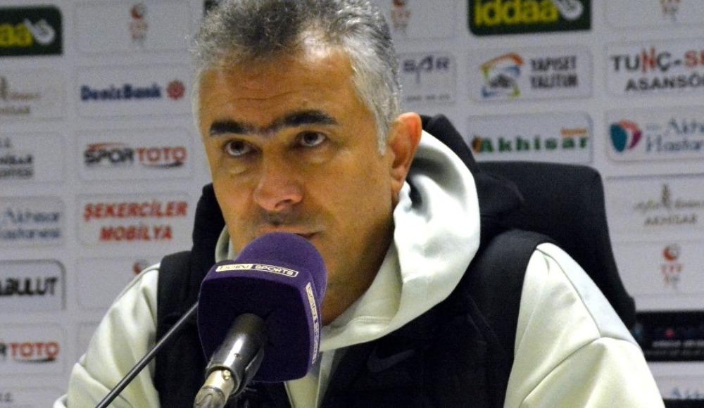 """Mehmet Altıparmak: """"Çok üzgünüz ama lig uzun bir maraton"""""""