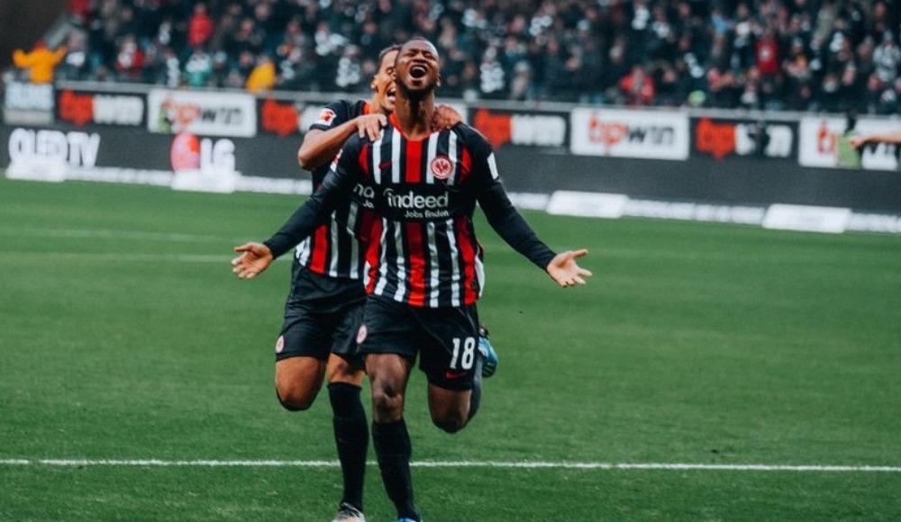 Eintracht Frankfurt, RB Leipzig'e dur dedi! 2-0