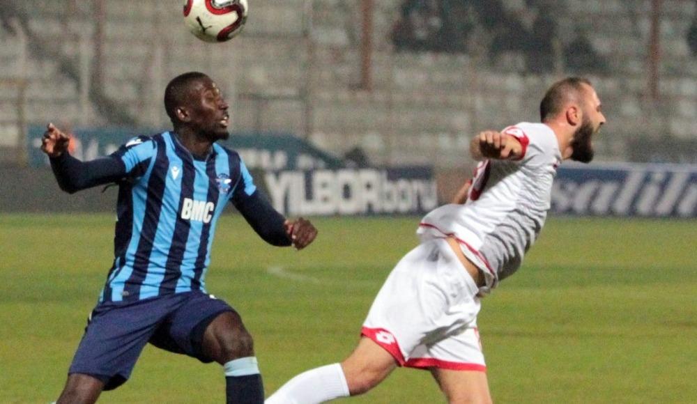 Adana Demirspor, evinde Boluspor ile yenişemedi