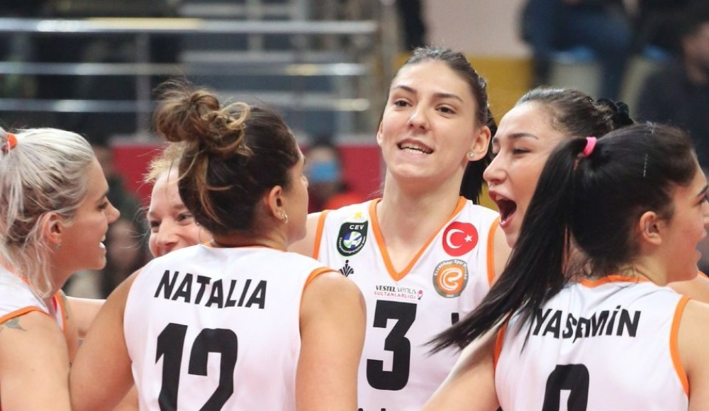 Eczacıbaşı VitrA, deplasmanda Nilüfer Belediyespor'u 3-1 yendi