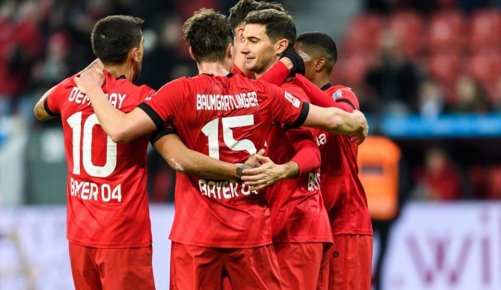 Bayer Leverkusen sahasında rahat kazandı! 3-0