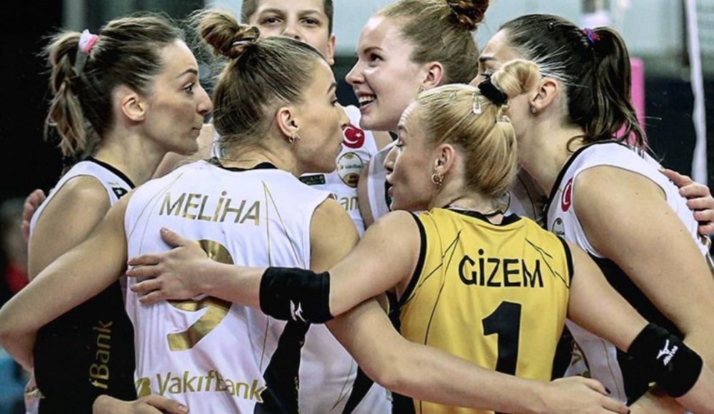 VakıfBank, PTT'yi 3-0 yendi