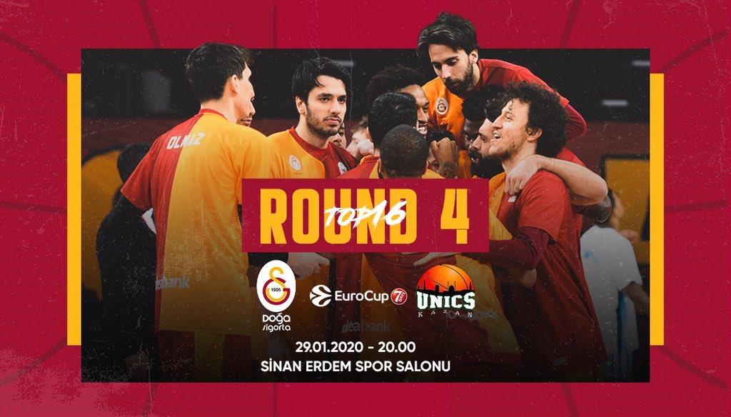 Galatasaray Doğa Sigorta - UNICS Kazan (Canlı Skor)