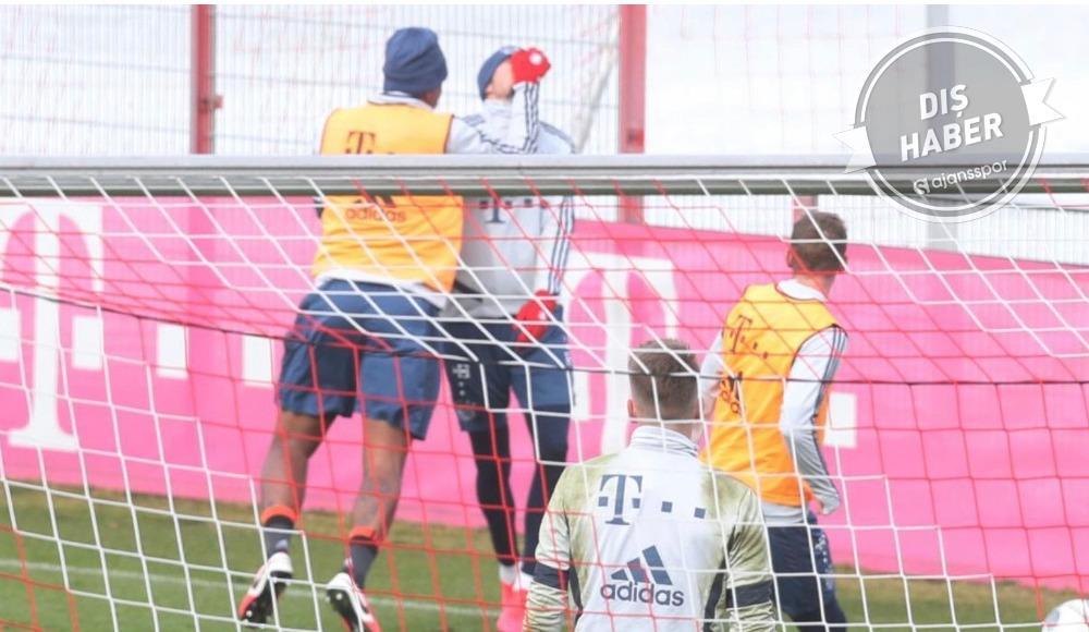 Jerome Boateng, antrenmanda Leon Goretzka ile kavga etti.