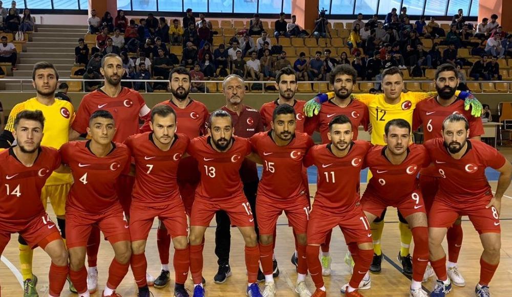 Futsal Milli Takımı, Litvanya'ya 3-2 yenildi