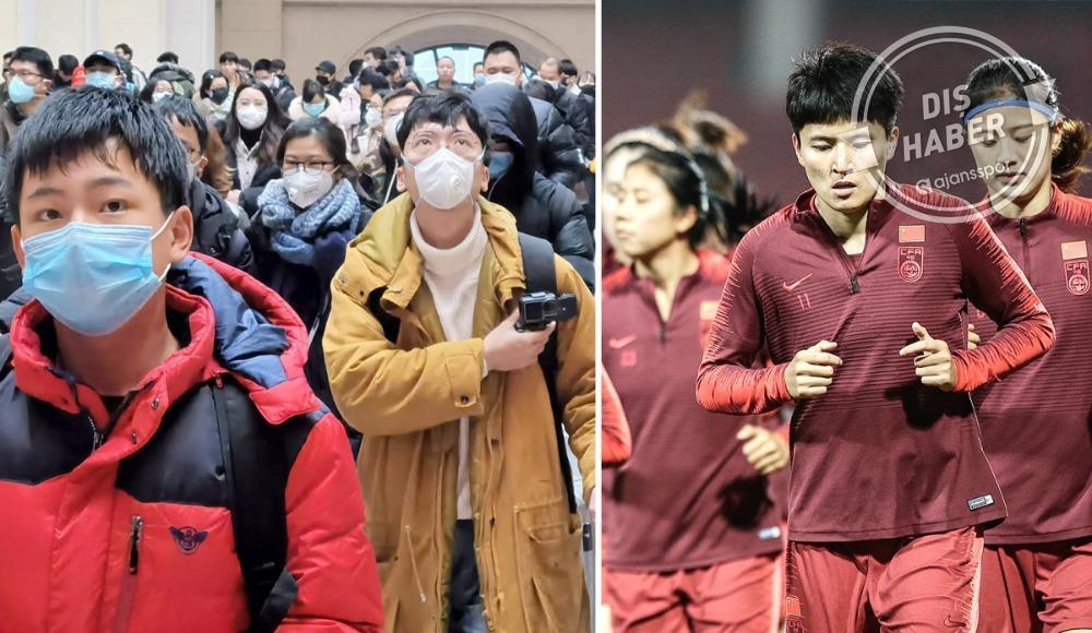 Corona virüsü vurdu, Çin'de futbol iptal